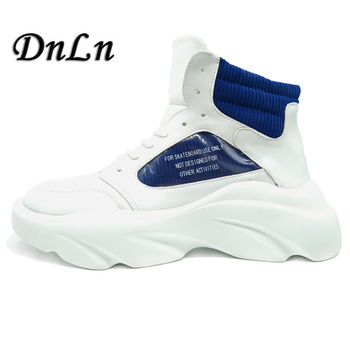 Men's Elevator Shoes Casual Comfortable Height Increasing Shoes High Top Fashion Sneakers 5#15D50