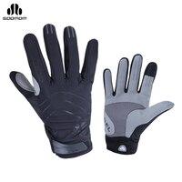 כפפות סקי כפפות חסינות לרוח חם תרמית חורף SOBIKE Handswear מסך מגע עבור כפפות נשים גברים סקי ספורט שלג תרמית