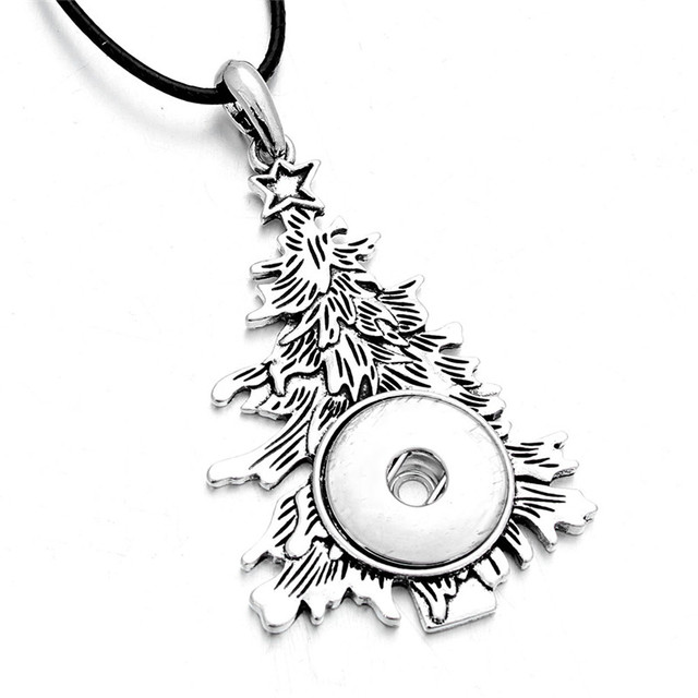 Snap Pendant Necklaces Tree...