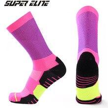 Basketball Socks (3 Pairs/lot) SUPER Elite/1003 Nylon Men Sports Running Outdoor Hiking