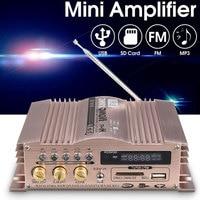 Stereo Portable Universal Car Amplifier MMC SD FM Music Audio Amplifier USB MP3