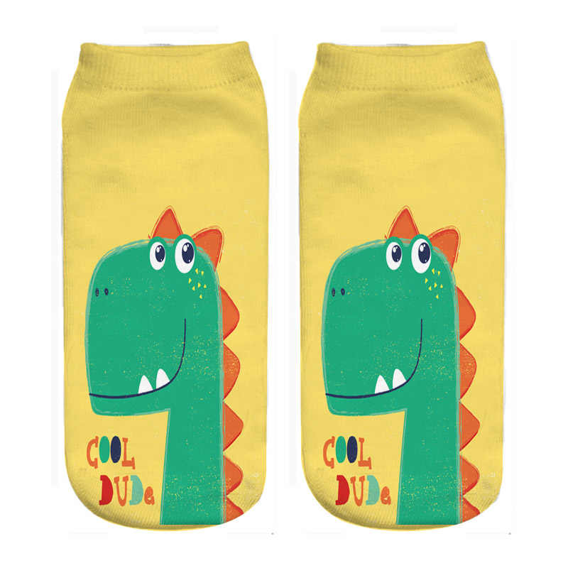 dino print socks for boys fashion wholesales dropship