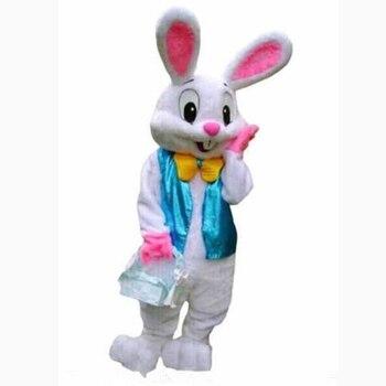 Cosplay kostüme Kuchen Professional Osterhase Maskottchen kostüm Bugs Kaninchen Hare Ostern Erwachsene Maskottchen