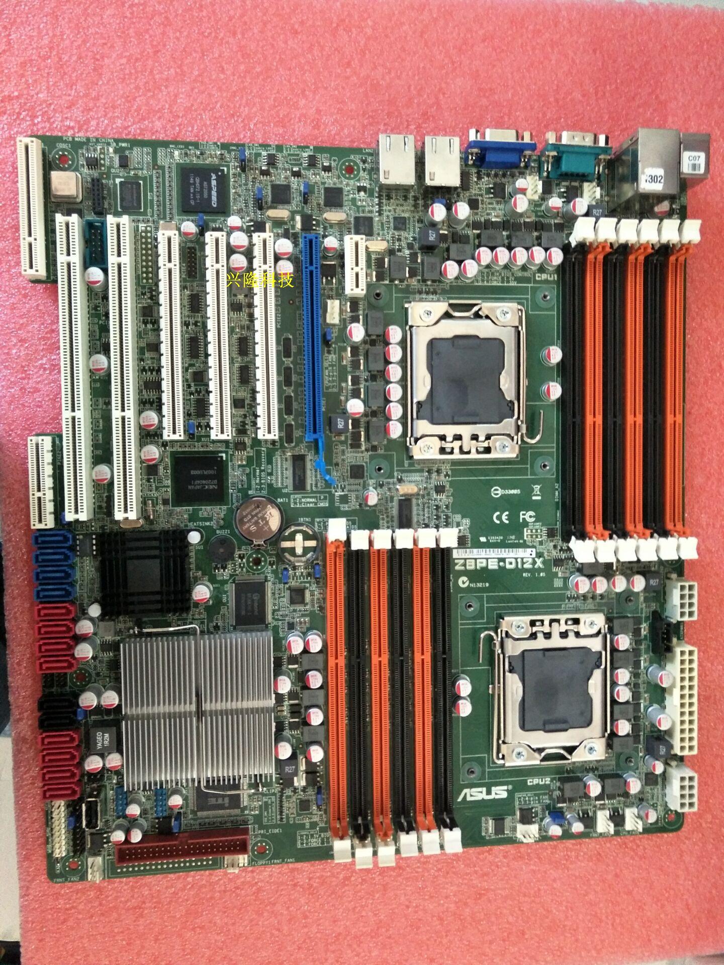 ASUS Z8PE-D12X Serveur Carte Mère S5520 X58 Socket LGA 1366 DDR3 14 * SATA2 RAID/0/1/5 /10 USB2.0 COM Port VGA