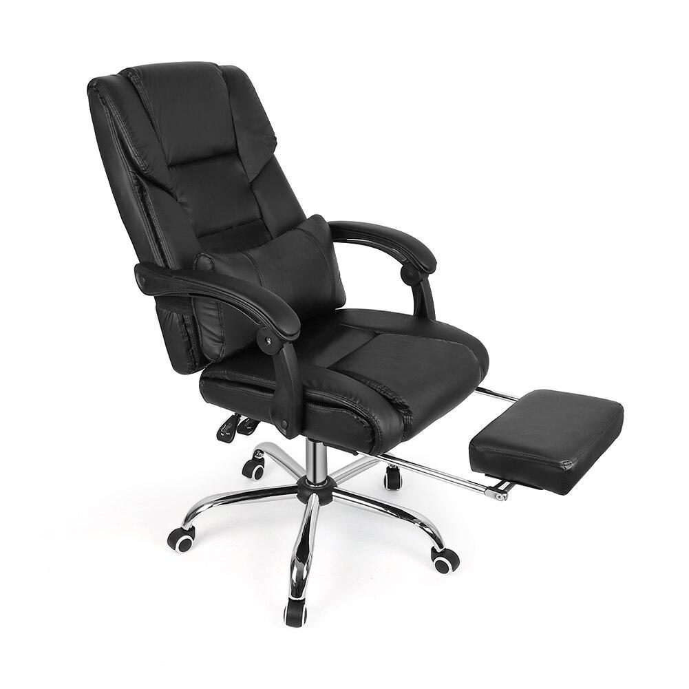 Conception De Levage Chaise Inclinable Chaise de Bureau Dossier Haut Ordinateur Sieste Chaise En Cuir HWC