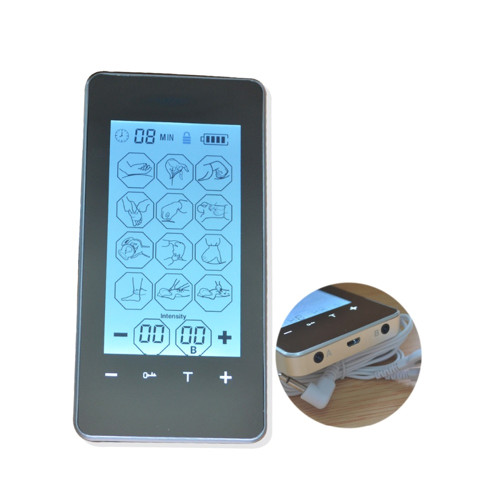 Pekskärm Smart Elektronisk Pulsmassager 12Mode Tens Akupunktur - Sjukvård - Foto 3