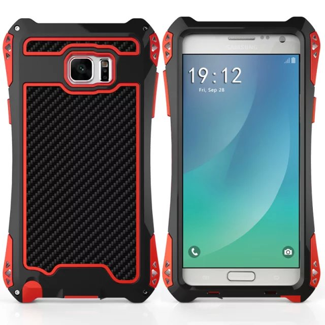 watch 69fee 961f8 US $17.99 |AMIRA note5 Armor Gorilla Glass Waterproof Shockproof Gorilla  Metal Aluminum Case Cover For samsung galaxy note5 phone case-in Fitted  Cases ...