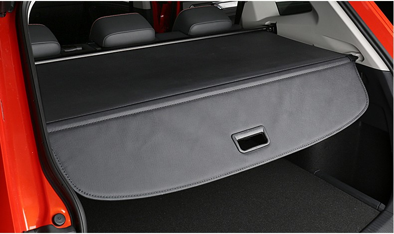 Car Rear Trunk Security Shield Cargo Cover For Volkswagen VW Tiguan 2016.2017.2018 High Qualit Black / Beige Auto Accessories car rear trunk security shield shade cargo cover for toyota highlander 2009 2010 2011 2012 2013 2014 2015 2016 2017 black beige