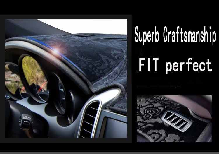 Для Mercedes-Benz B-Class W245 B160 B180 B200 2006-2011 фланель Dashmats приборной панели крышки приборной панели коврик в машину на заказ