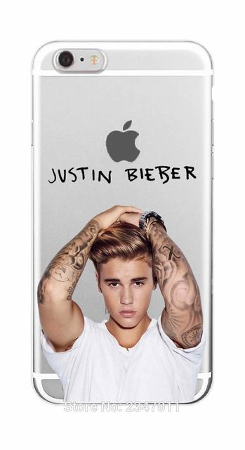 JUSTIN BIEBER Soft TPU Phone Case For iPhone 7 7Plus 6 6S 6Plus 5 5S SE 5C 4 4S SAMSUNG GALAXY