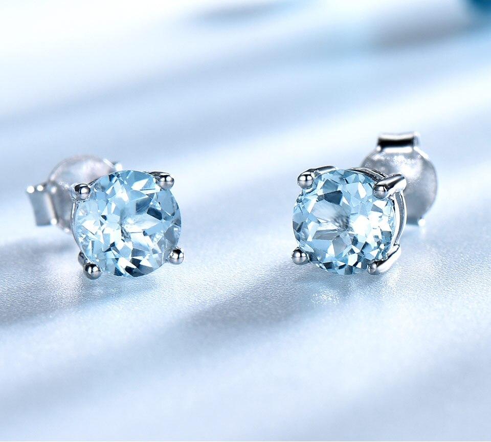 UMCHO-sky blue topaz earringss for womenEUJ002B-1 (3)