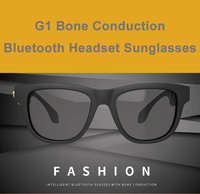Bone Conduction Touch Control Bluetooth Headset Sunglasses