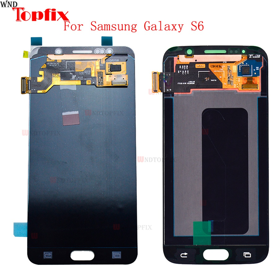 LCD Display Touch Screen Digitizer With Frame For Samsung Galaxy S6 G920 G920F G920FD G920I G920A 5.1 LCD Assembly ReplacementLCD Display Touch Screen Digitizer With Frame For Samsung Galaxy S6 G920 G920F G920FD G920I G920A 5.1 LCD Assembly Replacement