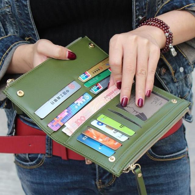 Women's Sexy Cube Grid Wallet