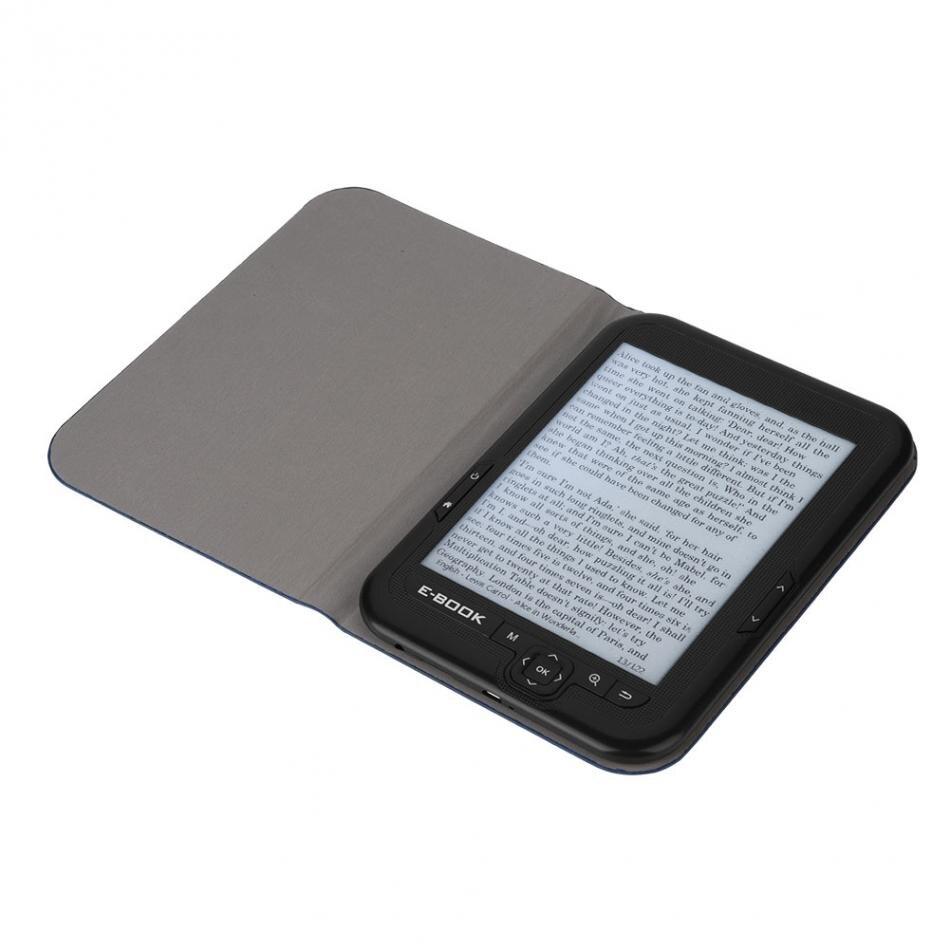 Lecteur Mp3 6 pouces écran d'encre électronique lecteur numérique ebook intégré 8 GB/16G rom et Support carte SD (Max 64 GB) étui ebook gratuit