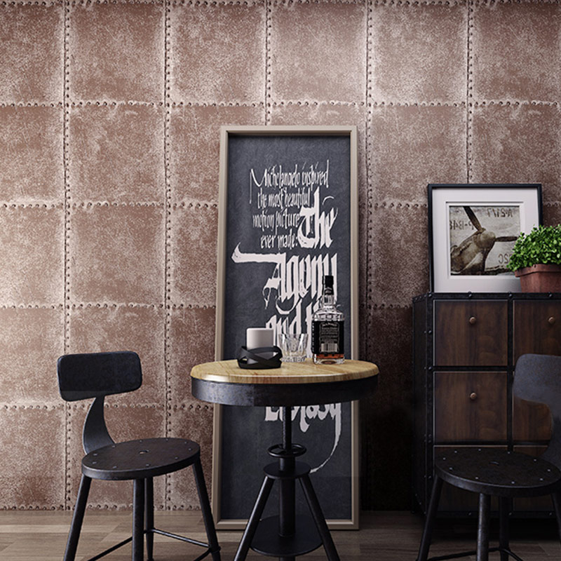 купить Rustic Vintage 3D PVC  Loft Style Wallpaper for Living Room and Bedroom Background Covering по цене 2717.18 рублей