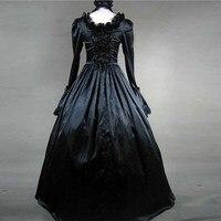 Classique Victorienne Robes Vintage Gothique Lolita jsk Halloween Sorcière Party Club De Bal Princesse de Soirée Cosplay Plus La Taille Robe