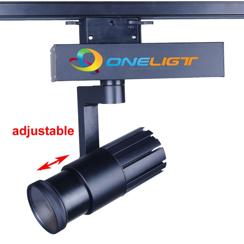 CREE COB LED Track Light 15W 20W 30W ZOOM Rail Ceiling