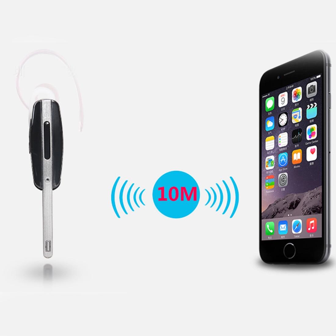 Marsnaska Wireless Handsfree Headphones Stereo Earphone Bluetooth Headset Single Channel Mic Earpiece For Samsung HM7000 wireless bluetooth stereo headset mic business car driver handsfree smart earphone for samsung for lg mini headphones portable