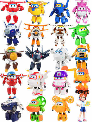 NEW !!! SEASON 5 Super Wings Big size 15CM Planes Transformation robot Action Figures Toys super wing toy For childrens gift