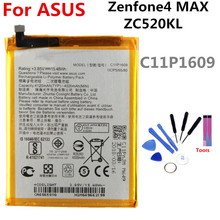 C11P1609 battery FOR Asus Zenfone4 MAX ZC520KL 4120mAh lithium battery li-ion polymer battery High capacit