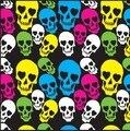 2016 новинка хип-хоп красочные панк-череп бандана повязка на голову шарф обруча для мужчин / WomenHead шарф шарфы бесплатная доставка