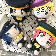 Anime jojonun tuhaf macera altın rüzgar Bruno Bucciarati Cosplay sevimli peluş doldurulmuş bebek atmak yastık Kawaii oyuncak Xmas hediyeler