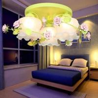 Гостиная Спальня 60 см Сельский лампа LED поглощать свет купола лепестки Droplight облако матовым стеклянным абажуром