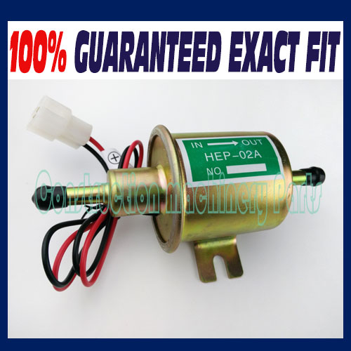 Fast free shipping, Electric Fuel Pump HEP-02A Low Pressure 12V For Agricultural ATV Automotive 12V quantum quantum pwg225lsb 01bb
