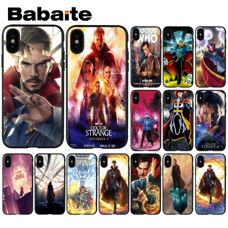 Phone Bags & Cases Fitted Cases Maiyaca Doctor Strange Benedict Phone Case Cover For Iphone 5 5s Se 6 6s 7 8 X Xr Xs Max Samsung Galaxy S5 S6 S7 Edge S8 S9 Plus Moderate Price