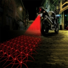 Driving Lights Motocycle Fog Light Rear Light Laser Anti-collision #HP