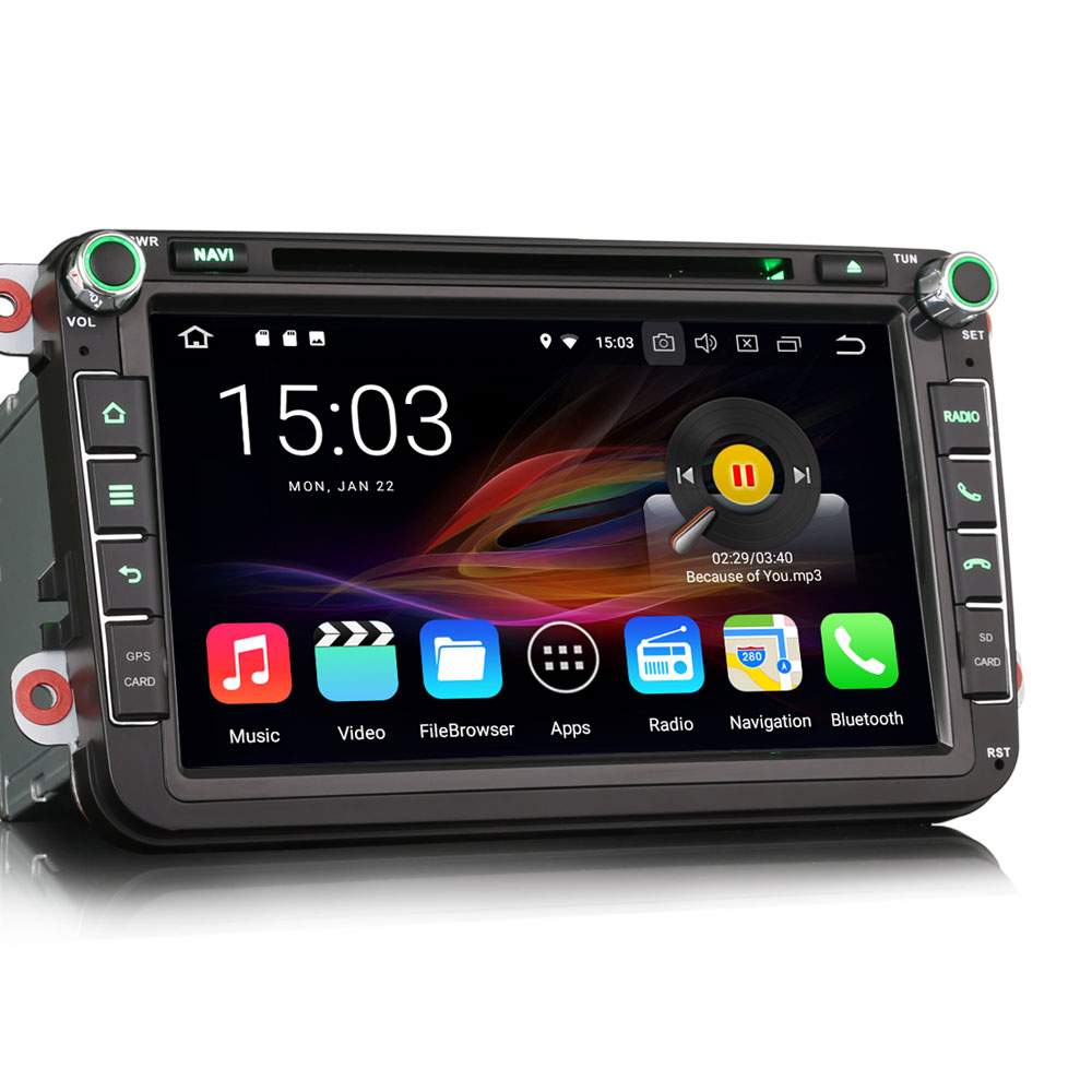8 android 8 0 oreo os car dvd multimedia gps radio for. Black Bedroom Furniture Sets. Home Design Ideas
