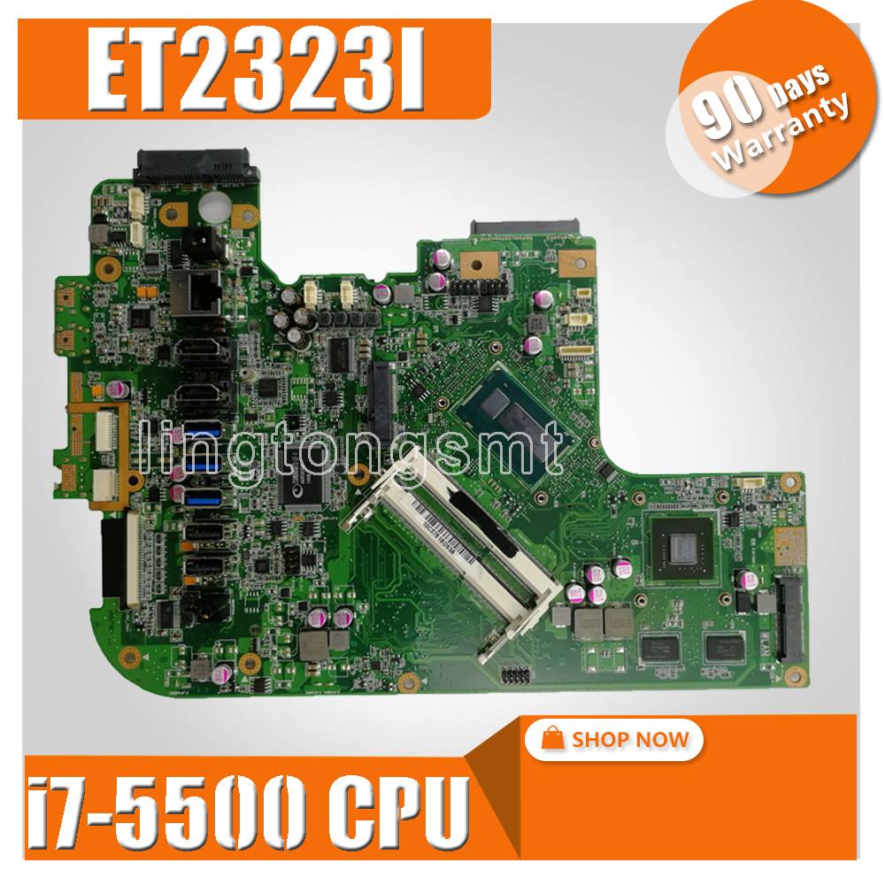 ET2323I MAIN BOARD REV1.3 ET2323I i7-5500 CPU All-in-one mainboard For ASUS ET2323 motherboard Tested WorkingET2323I MAIN BOARD REV1.3 ET2323I i7-5500 CPU All-in-one mainboard For ASUS ET2323 motherboard Tested Working