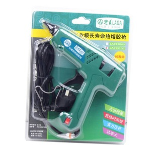 Image 5 - LAOA 25W/100W Hot Melt Glue Gun Pistolet a colle Mini For Metal Wood Working Stick Paper Hairpin  PU Flowers With EU plug