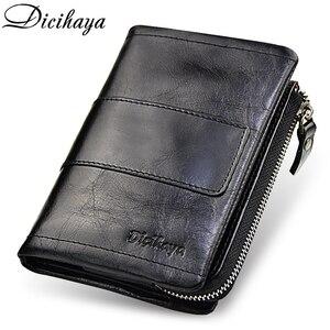 DICIHAYA Genuine Leather Men W