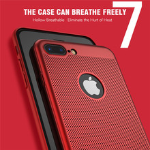 Breathable Cooling Frosted Phone Case For iPhone XS Max XR X 6 6 Plus 6S 6S Plus 7 7 Plus 8 8 Plus protective phone case logo jd коллекция 47 дюйма прогиба мембраны 6 6s 7 общие дефолт