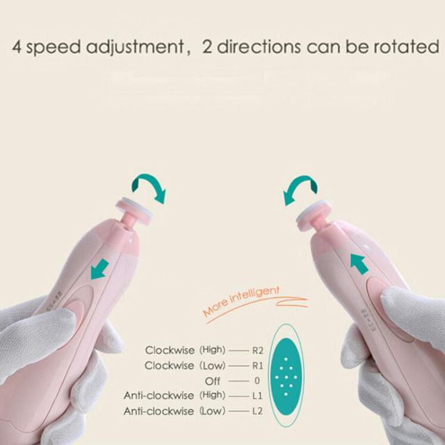 Baby Electric Nail Trimmers