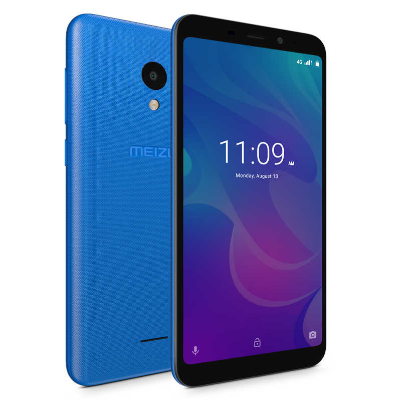 Version mondiale officielle Meizu C9 2GB 16GB téléphone portable Quad Core 5.45 pouces 1440X720P avant 8MP arrière 13MP caméra 3000mAh batterie