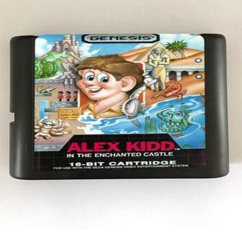 Top quality 16 bit Sega MD game Cartridge for Megadrive Genesis system — Alex Kidd