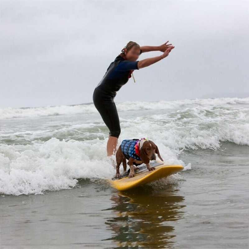الحيوانات الأليفة الصيف ملابس السباحة مع D حلقة ل المقود الكلاب عاكسة الحياة الكلب سترة الإبحار السباحة تعويم سترة الحيوانات الأليفة سلامة سترة