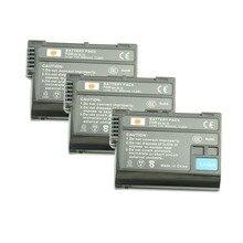 DSTE 3 unids EN-EL15 en-el15 Batería Recargable para Nikon D7000 D7200 D7100 D600 D500 D610 D810 D800 D800E V1 D7500 cámara
