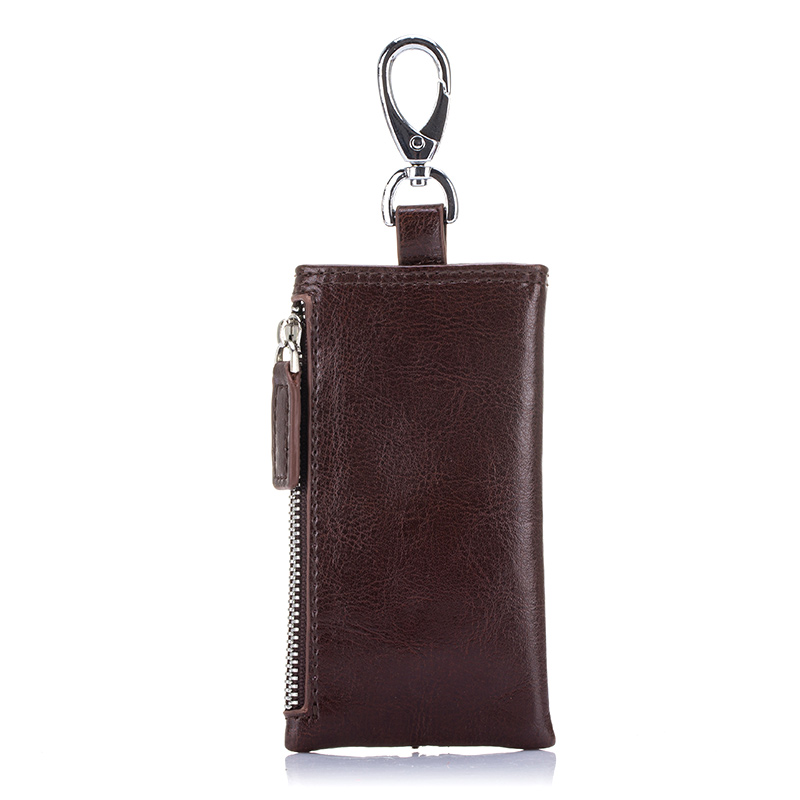 COMFORSKIN New Arrivals Key Housekeepers Multi function Key Wallet Split Leather Key Holders 2019 Hot Band Designer Key Cases in Key Wallets from Luggage Bags