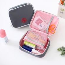 Travel Function First Aid Kit Accessories Heart Oxford Storage Distribution Medicine Package Packing Organizer