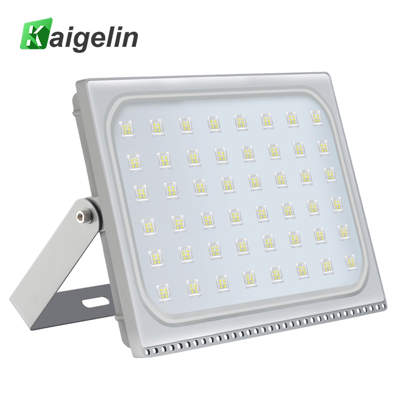 2 PCS Kaigelin 300W LED Flood Light 27000LM Waterproof LED Projector Reflector Spotlight Wall Lamp Floodlight Outdoor Lighting