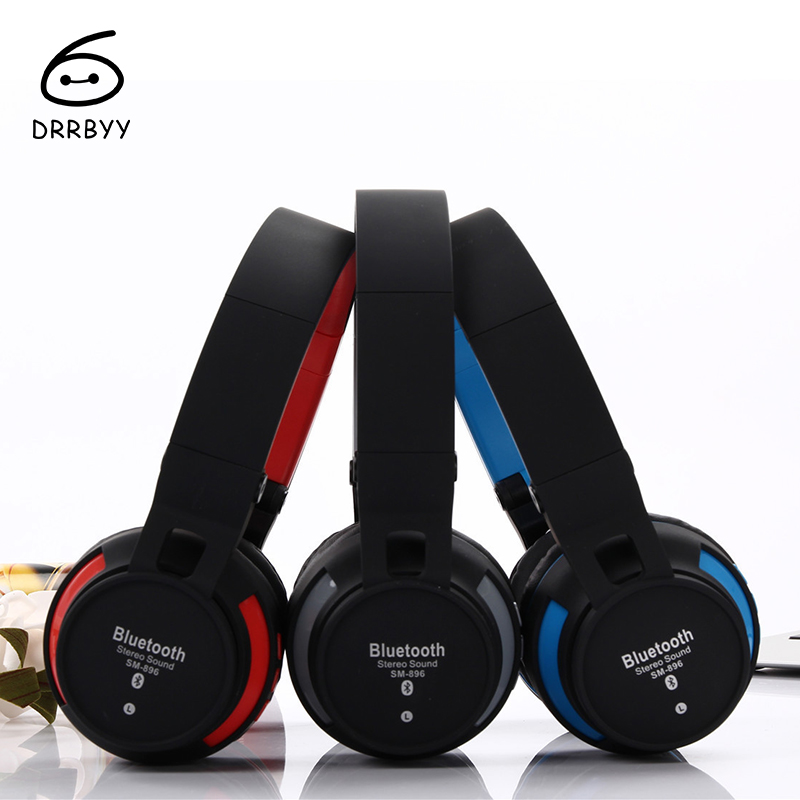 SM-896 Bluetooth 4.2 Stereo Headphone Wireless Casque Audio Auricular With Mic Sport Headset For iPhone Xiaomi PC TV MP3 Piston3 bluetooth sunglasses sun glasses wireless bluetooth headset stereo headphone with mic handsfree for iphone samsung huawei xiaomi