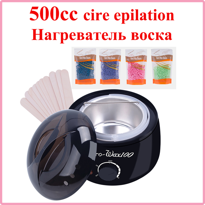 Hair Removal Tool Epilator Warmer Wax Heater Professional  Epilator Waxing Machine For Hair Removal Paraffin  VIP DROPSHIPPING