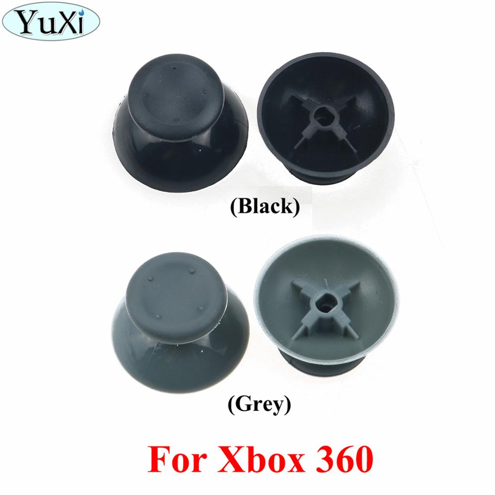YuXi 3D Analog Joystick Replacement Thumb Grips Caps Buttons For XBOX 360 Gamepad Controller Repair Parts
