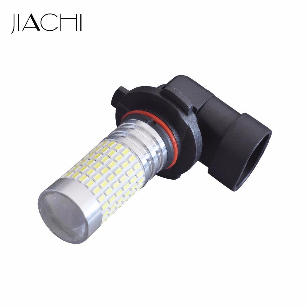 JIACHI 2PCS Super Bright H10 PY20D LED Auto Car Fog Lamp 9145 LED Daytime Running Light