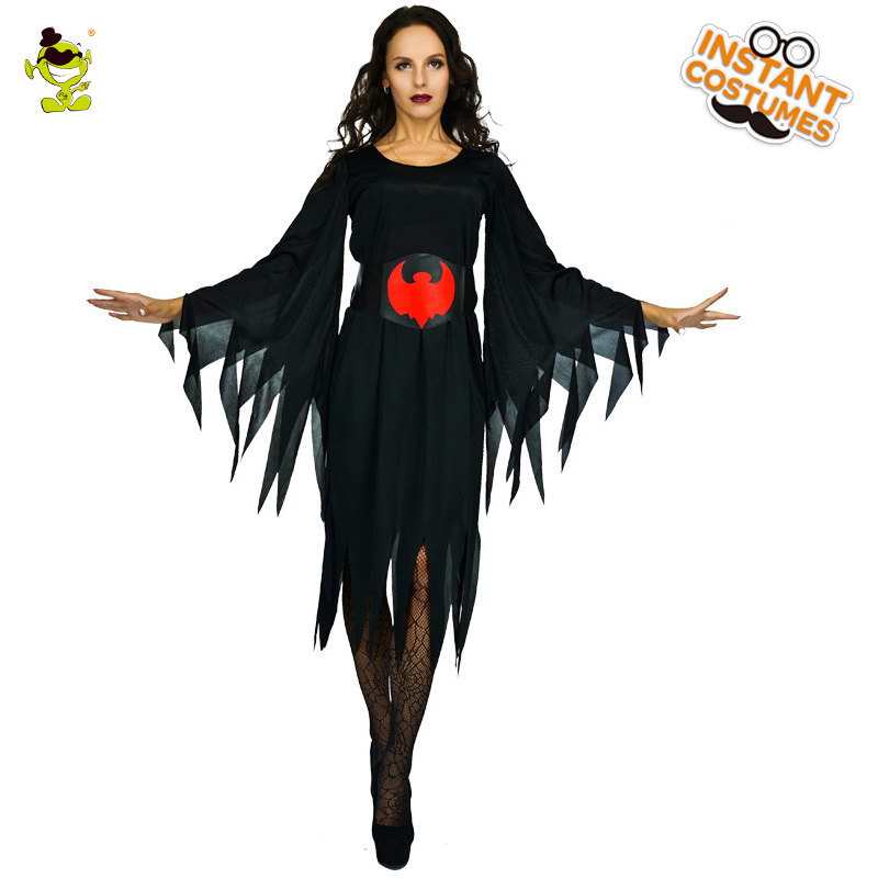 Purim Holiday Darkness Bat Women Devil Costume Women's  Halloween For Cosplay Party Role Play Fancy Dress Costumes