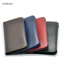 EVOLOU Wallet Pouch Cover Leather Case For Xiaomi Mi6 Max Redmi 4x Pro Flip Cover For